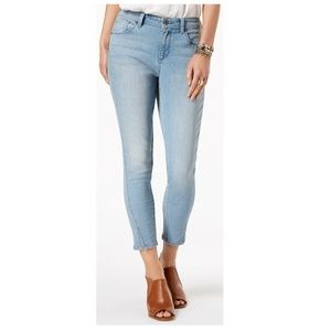 NWT Style & Co Skinny Ankle Jeans Size 8 Mid Rise